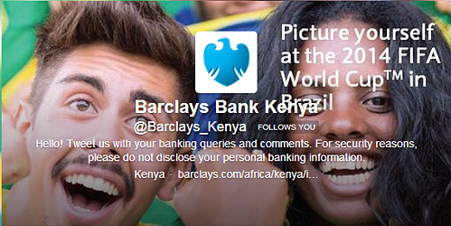 Customer Experience Banking Service Twitter Example
