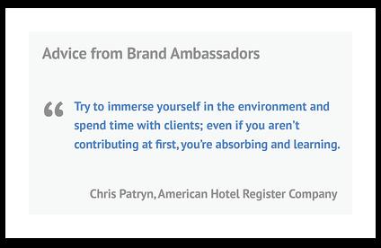 Customer Experience Brand Ambassador