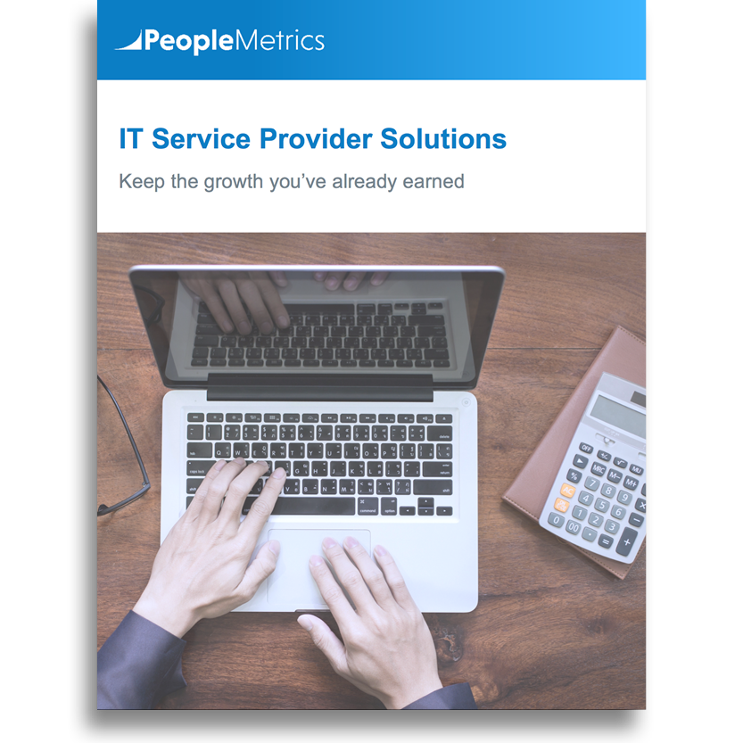 PeopleMetrics IT Service Providers Solution Overview