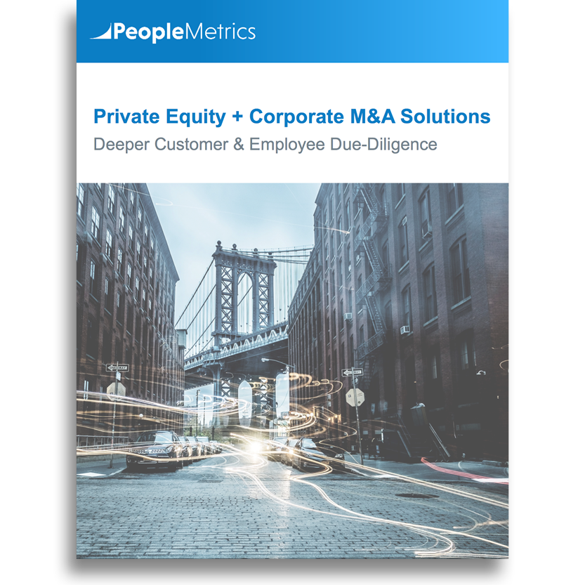 PeopleMetrics Private Equity + Corporate M&A Solution Overview