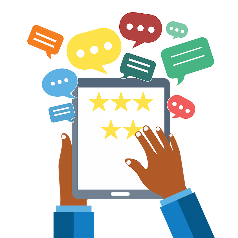 Social reviews