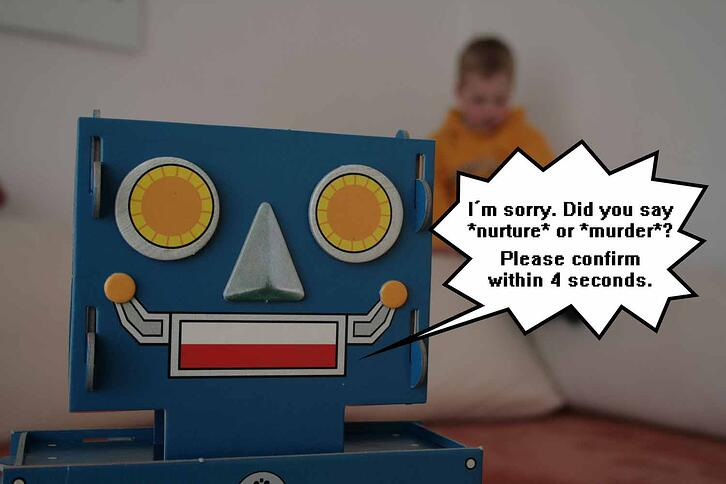 your customer experience probably shouldn't involve murderous robots