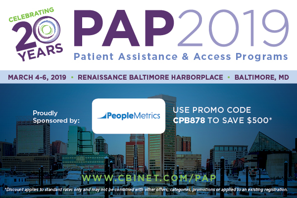 $500 Off PAP 2019 Registration with Discount Code CPB878