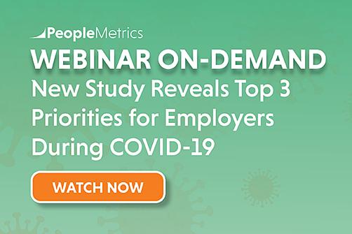 PeopleMetrics Webinar Employee Experience COVID-19