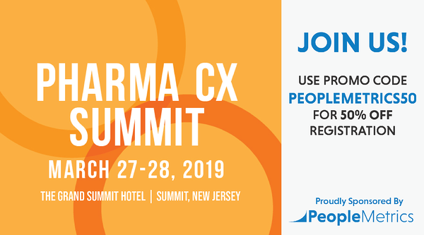 50% Off PharmaCX Registration with Discount Code PEOPLEMETRICS50