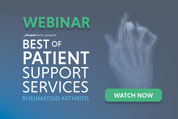 Watch the Best of Patient Support Services: Rheumatoid Arthritis Webinar